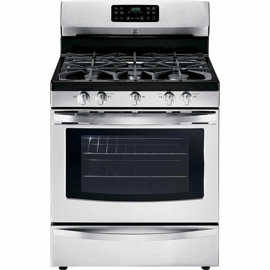 Kenmore 74233 5.0 cu. ft. Self Clean Gas Range in Stainless Steel, includes delivery and hookup
